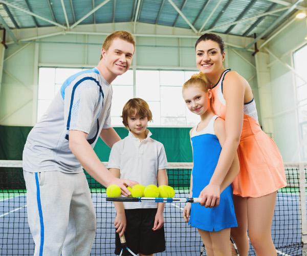 Польза «большого» тенниса для детей