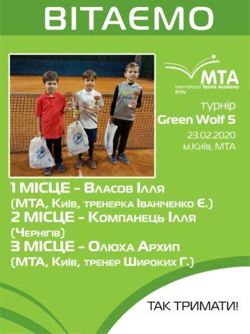 Зеленые волки-победители!