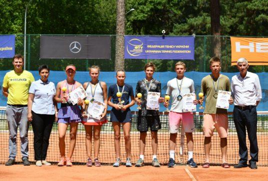 Результаты Чемпионата Украины до 16 лет