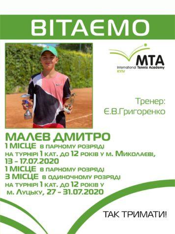 Малев Дмитрий — наш Чемпион!